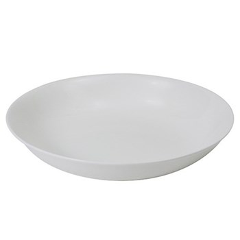Pure Pasta plate deep, 26cm, white bone china