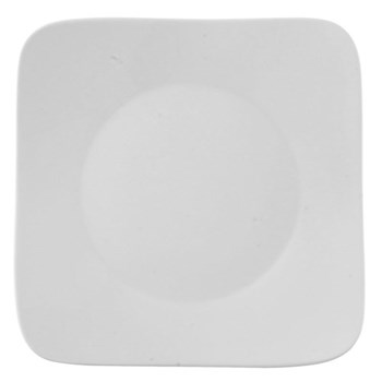 Free Spirit Plate square, 27cm, white