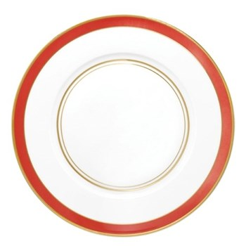 Cristobal Rouge American dinner plate No.1, 27cm