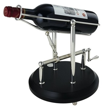 Wine decanting machine