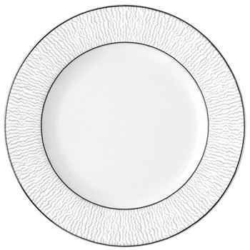 Dune Bread and butter plate, 16cm, platinum