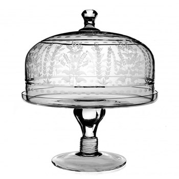 Portia Cake stand and dome, 30cm