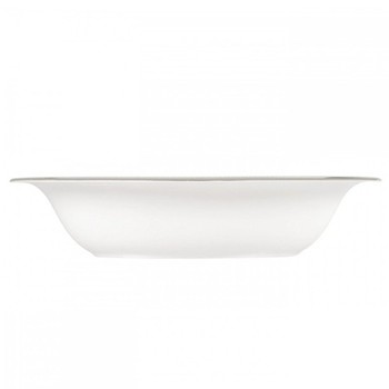 Vera Wang - Lace Platinum Open vegetable dish, 25cm