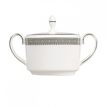 Vera Wang - Lace Platinum Covered sugar bowl