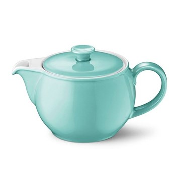 Solid Colour Teapot, 1.1 litre, seawater green