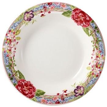 Millefleurs Deep round dish, 31cm