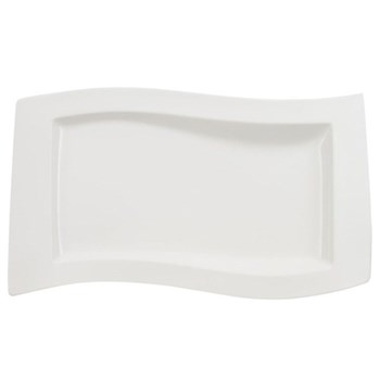 New Wave Rectangular serving dish, 49 x 30cm