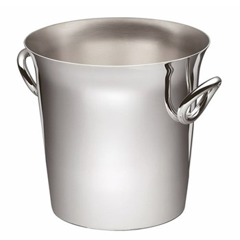 Vertigo Ice bucket, 16cm, Christofle silver