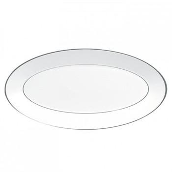 Jasper Conran - Platinum Oval dish, 45 x 24.5cm