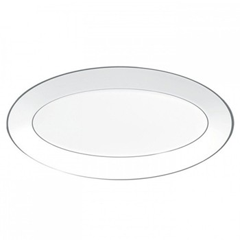 Jasper Conran - Platinum Oval dish, 39 x 21.5cm