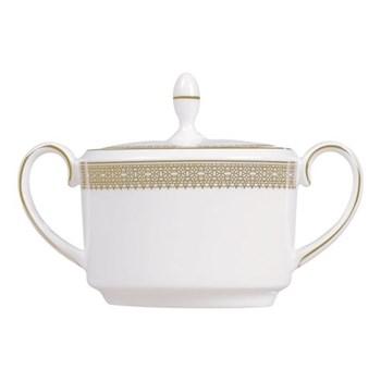 Vera Wang - Lace Gold Covered sugar bowl