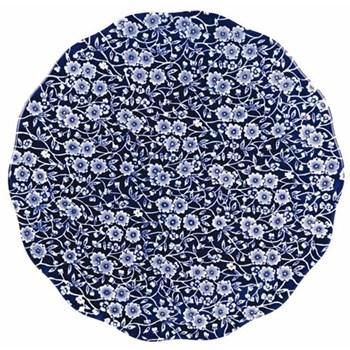 Calico Cake plate, 28cm, blue