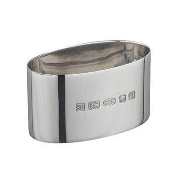 Oval napkin ring