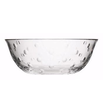 Bubbles Large bowl, clear