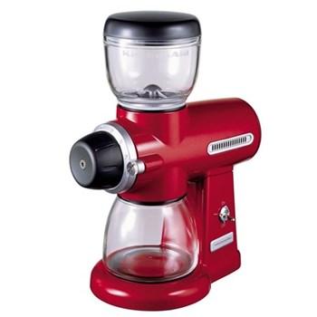 5KCG0702BER Artisan burr grinder, red
