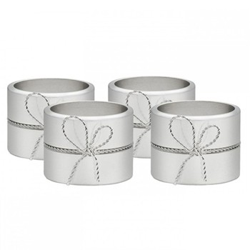 Vera Wang - Love Knots Set of 4 napkin rings