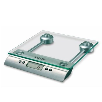 Aquatronic Electronic kitchen scales, glass/steel