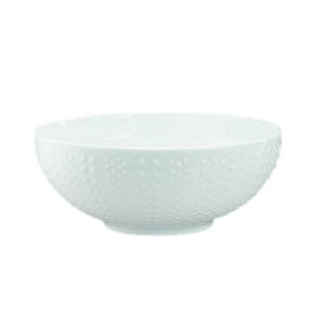 Corail Salad bowl, 22.5cm, white