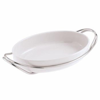 Oval serving dish 44cm