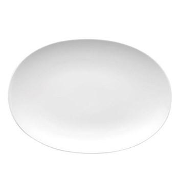 Medaillon Platter, 33cm, white