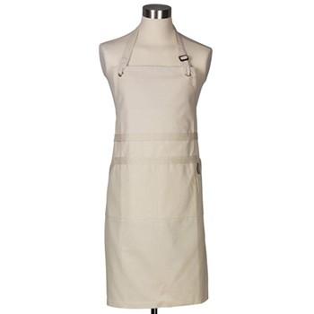 Textiles Chef's apron, cream