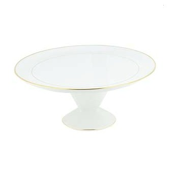 Orsay Or Footed tart dish, 31.5cm
