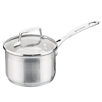 Saucepan with glass lid 18cm