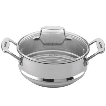 Multi steamer insert with glass lid 16-18-20cm