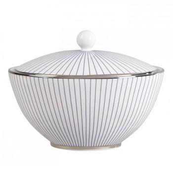 Jasper Conran - Pin Stripe Covered sugar bowl