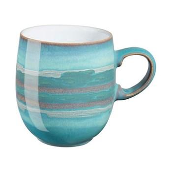 Azure Coast Curve mug, large, aquamarine
