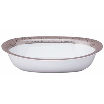 Margot Open vegetable dish, taupe