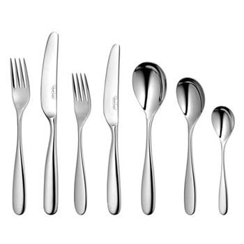 Stanton Bright 42 piece cutlery set, stainless steel