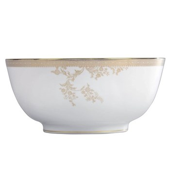 Vera Wang - Lace Gold Salad bowl, 25cm