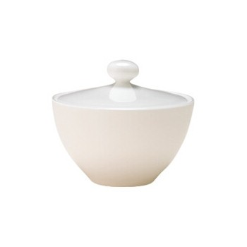 China Covered sugar bowl, 25cl - 10.5 x 9cm
