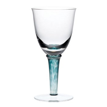 Pair of white wine glasses 20cl