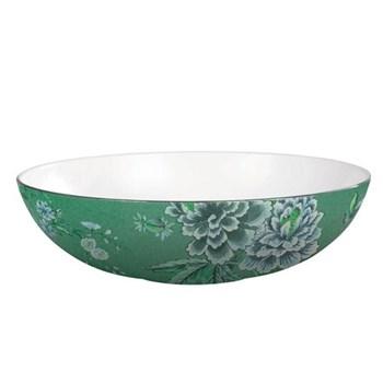 Jasper Conran - Chinoiserie Green Oval open serving dish, 30.5 x 7cm