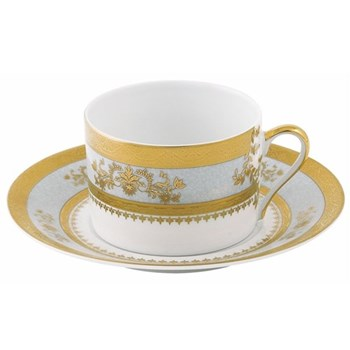 Orsay Teacup and saucer, sky grey