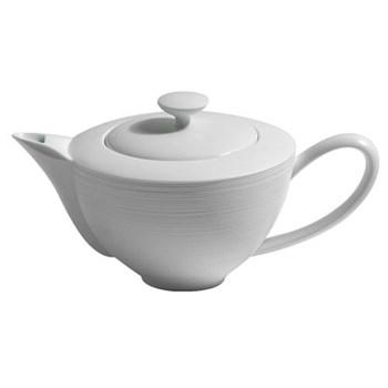 Teapot fully porcelain 0.9 litre