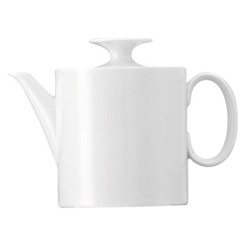 Medaillon Teapot no.4, white