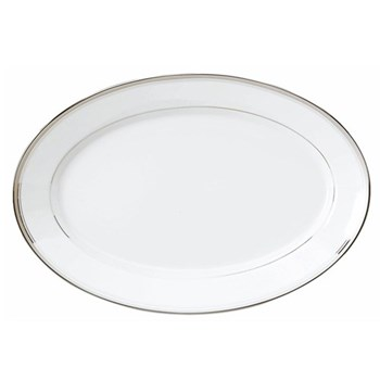 Excellence Oval platter, 40cm, grey