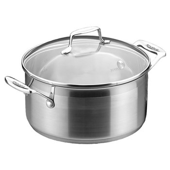 Impact Dutch oven pan with lid, 4.5 litre, stainless steel