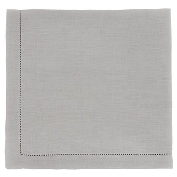 Florence Pair of napkins, 45 x 45cm, silver grey