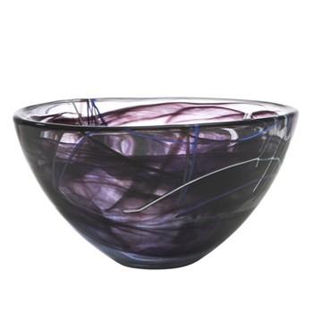 Contrast Bowl, 23cm, black