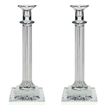 Anita Pair of candlesticks, 27cm