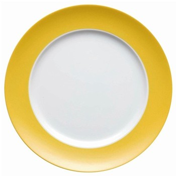 Sunny Day Plate, 27cm, yellow