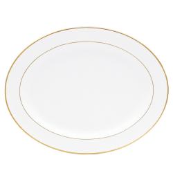Palmyre Oval platter, 33cm