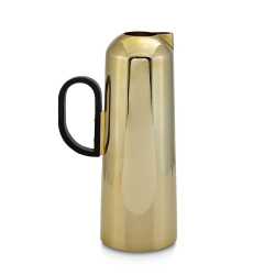 Form Jug, W14.5 x H25.5 x D8.8cm, Brass