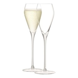 Wine Set of 2 prosecco glasses, 25cl, clear
