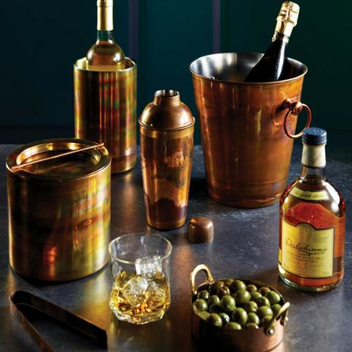 Luxurycocktail shaker, 700ml, Iridescent Copper