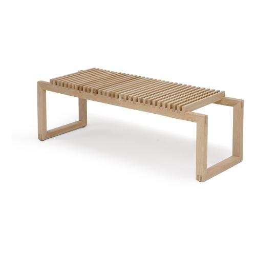 Cutter Bench, W121 x D40 x H43.5cm, Oak